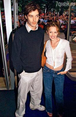 С Джеймсом Гудингом. 2000 г.