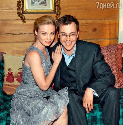 Татьяна Арнтгольц и Иван Жидков в роли супругов