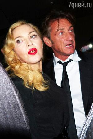 Мадонна (Madonna) и Шон Пенн (Sean Penn)