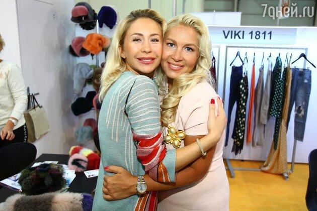 Анастасия Гребенкина и Екатерина Одинцова