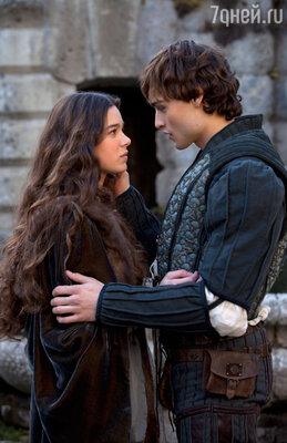 Кадр из фильма «Ромео и Джульетта» 2013 год