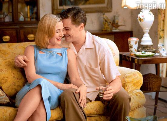 С близкой подругой Кейт Уинслет в фильме ее бывшего мужа режиссера Сэма Мендеса «Дорога перемен». 2008 г.
