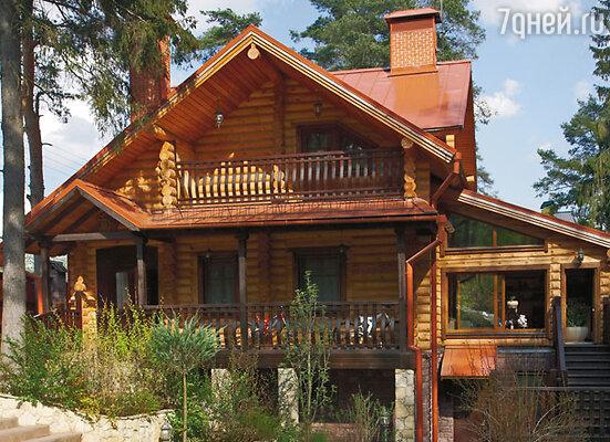 Загородный дом Николая, куда Ольга с дочерью переехала после свадьбы