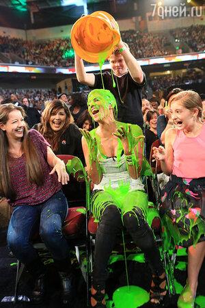 на  церемонии вручения наград Kids Choice Awards