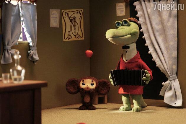 Кадр из фильма «Чебурашка»