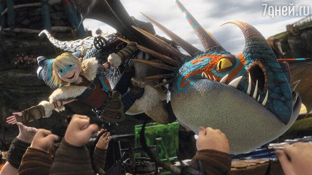 Кадр из фильма «Как приручить дракона-2»