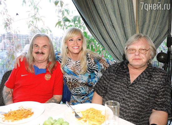 Владимир Пресняков (старший), Наталья Гулькина и Юрий Антонов