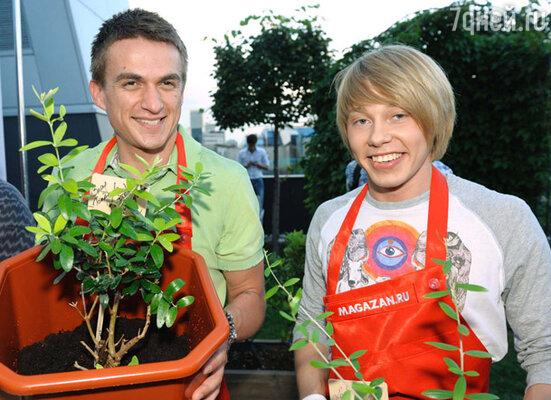 Влад Топалов и Дмитрий Бикбаев