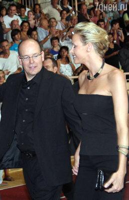 Принц Монако Альберт II с Шарлен Уиттсток