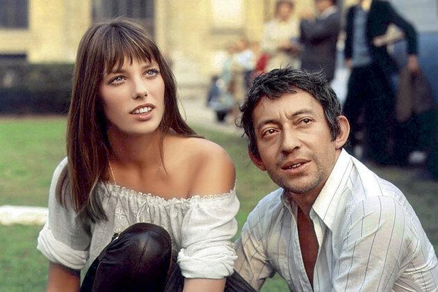 Джейн Биркин и Серж Генсбур. Париж, 1969 г.