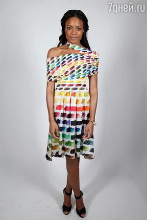 Наоми Харрис в платье Dior