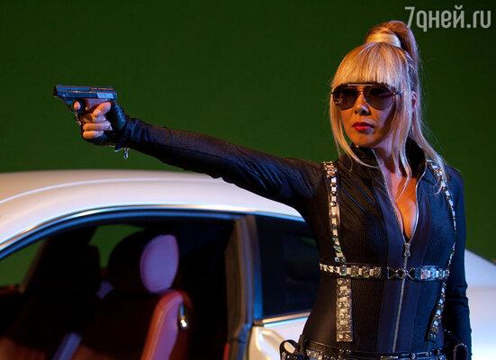 Съемки видео на  песню «Агент 007»