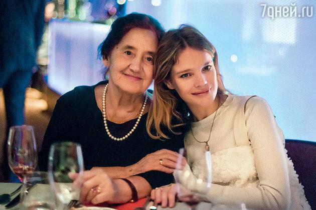 Наталья Водянова с бабушкой Ларисой Гавриловной