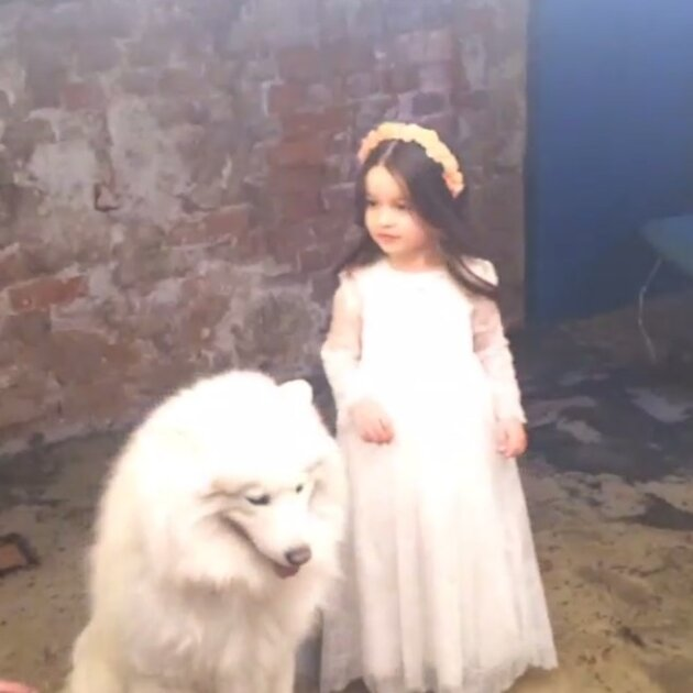 Дочка Ксении Бородиной Маруся
