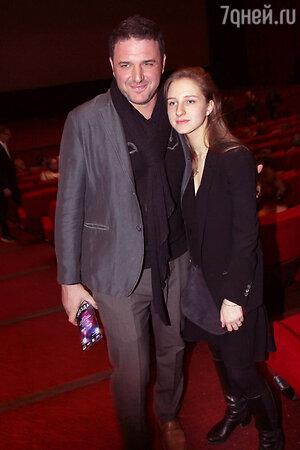 Максим Виторган с дочерью Полиной