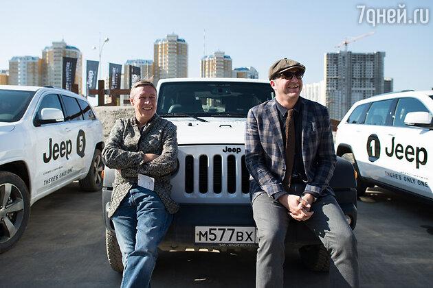 Максим Витогран и Михаил Ефремов