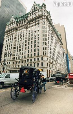 Отель «Плаза» на Пятой авеню — один из символов Нью-Йорка. Именно сюда впервые привезли «Битлз» из аэропорта в 1964 году