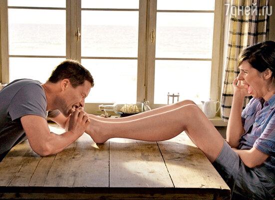 Кадр из картины «Красавчик-2» (с актрисой Норой Чирнер)
