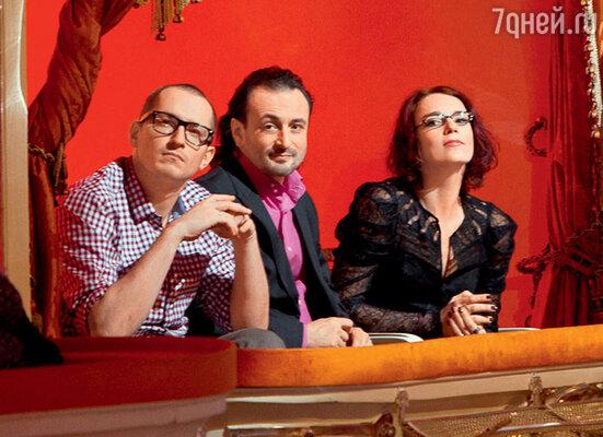 Илья Авербух с членами команды проекта «Болеро»