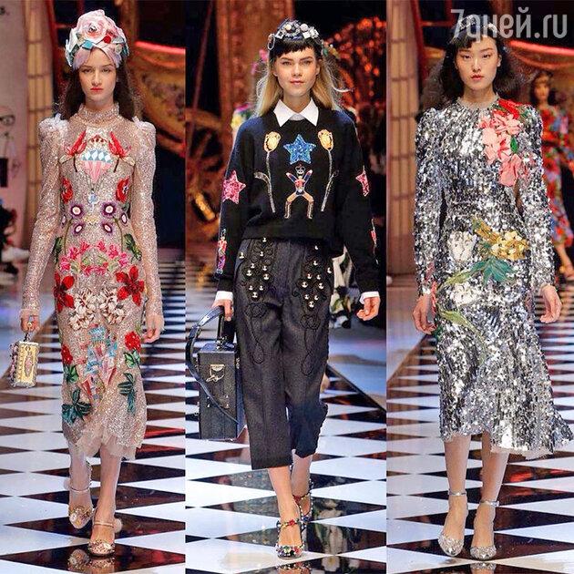 Показ Dolce&Gabbana