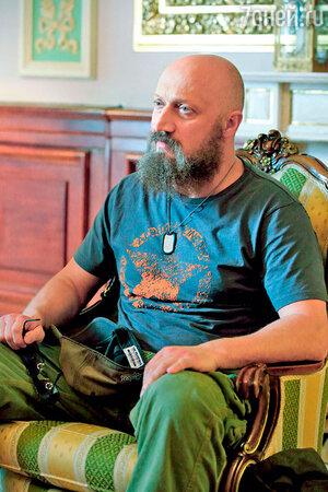 Гоша Куценко в гриме