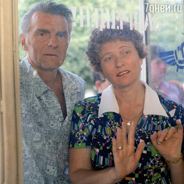 Людмила Зайцева с Юрием Назаровым