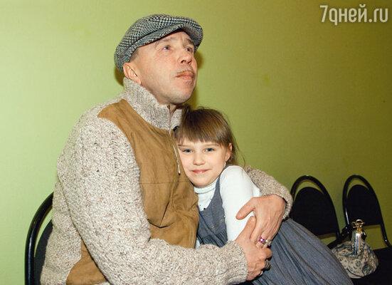 Гарик Сукачев и его дочь Настя