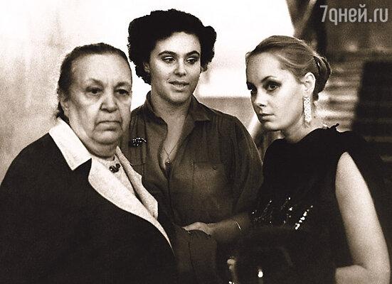 Три самые любимые женщины Иосифа Давыдовича: мама, Ида Исаевна, сестра Гела и жена Нелли