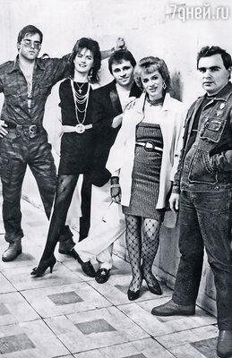 Одна из немногих фотографий первого состава «Миража»