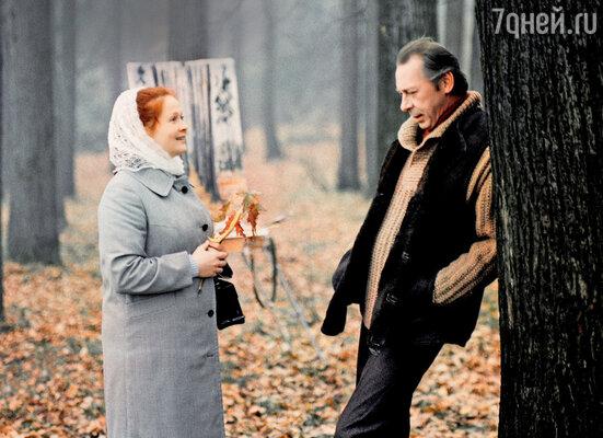 С Олегом Ефремовым в фильме «Однажды 20 лет спустя». 1980 г.