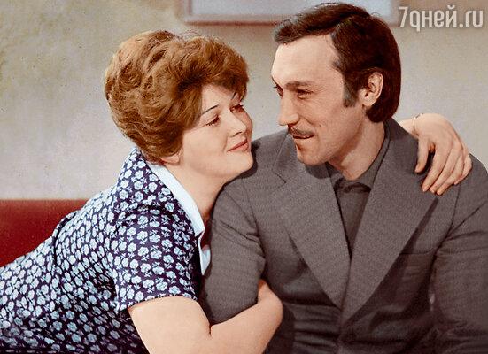 В фильме «Сладкая женщина» с Олегом Янковским. 1976 г.