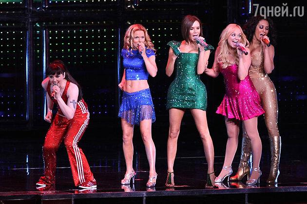 Выступление группы Spice Girl  в 2008 году