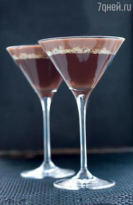 Шоколадный муссс фундуком