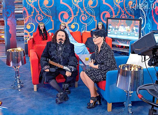 На приеме «завуча» Лолиты несостоявшийся «вампир» Игорь Саруханов