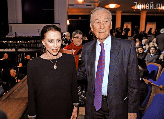 Майя Плисецкая и ее муж композитор Родион Щедрин