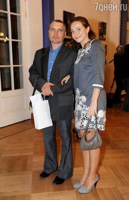 Актриса Екатерина Гусева с мужем