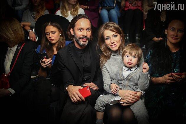 Юлия Барановская с младшим сыном