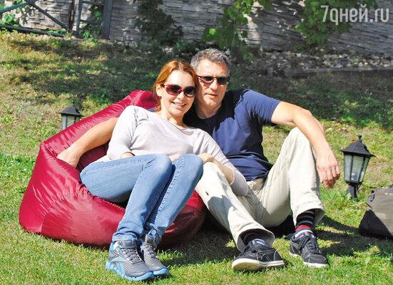 С мужем Николаем