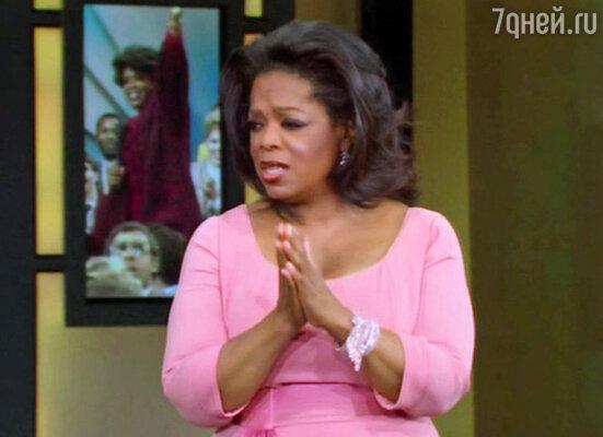 Знаменитая телеведущая Опра Уинфри представила последний выпуск своего телевизионного шоу, выходившего на протяжении 25 лет на канале ABC