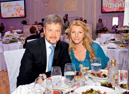 Валдис Пельш и его супруга Светлана