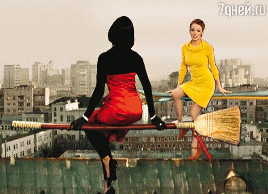 Снявшись в небольшой роли ведьмы, Жанна Эппле впервые «полетала» на метле
