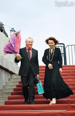 Лион Измайлов с женой Еленой