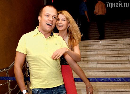 DJ Грув и его супруга Александра Рудина