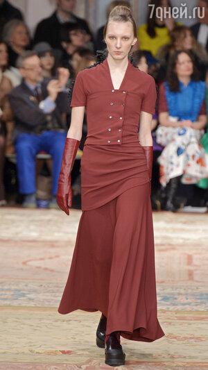 Модный цвет «марсала». ANTONIO MARRAS