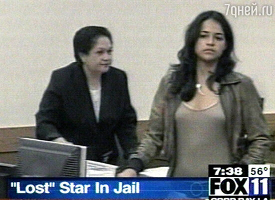 В зале окружного суда на Гавайях Мишель сказала всю правду и получила сто восемьдесят дней тюрьмы