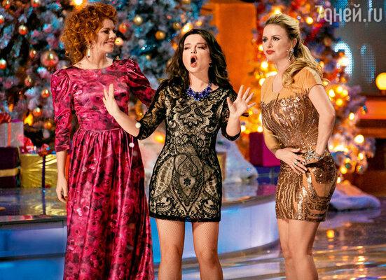 Ведущими праздничных теленовостей стали Анастасия Стоцкая, Наташа Королева и Анна Семенович — они расскажут о новых диетах