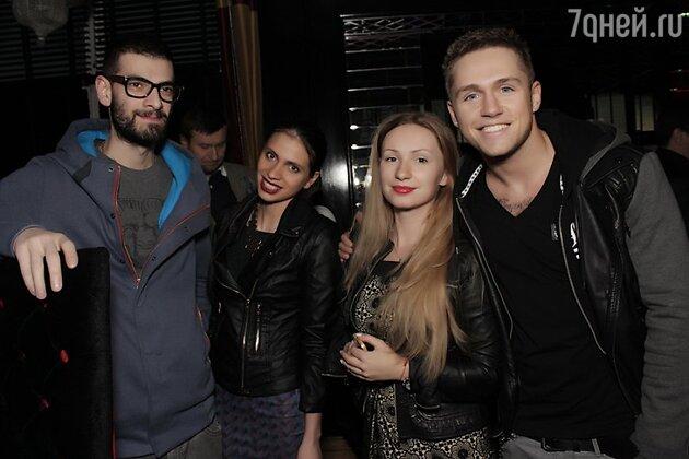 Влад Соколовский с гостями мероприятия