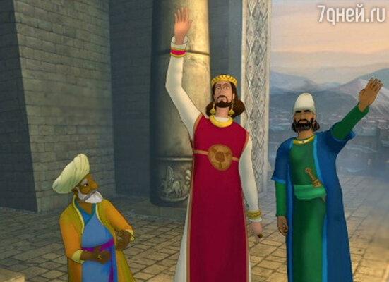 Кадр из фильма «Печать царя Соломона»