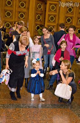 Танец Даны Борисовой и ее дочки Полины
