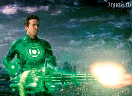 Кадр фильма «Зеленый фонарь»